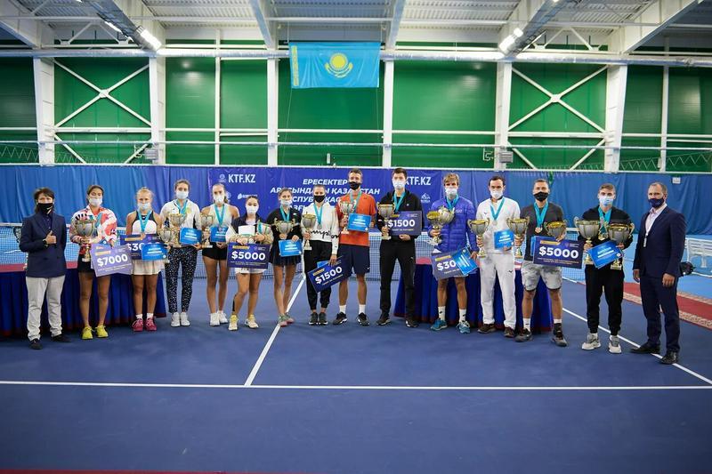 Теннис: Жарыс жеңімпаздары Астанаға барады